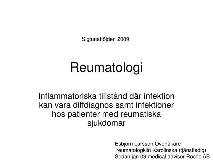 reumatologi n.