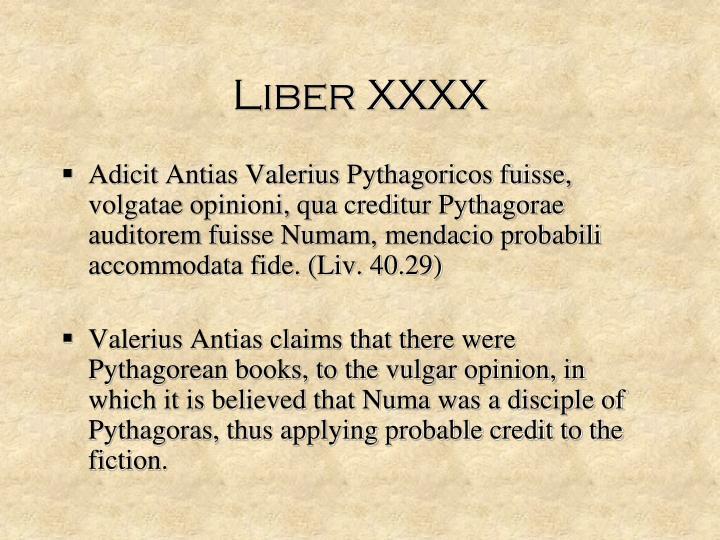 Liber XXXX