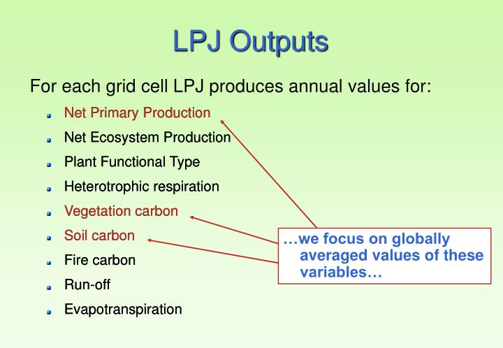 …we focus on globally averaged values of these variables…