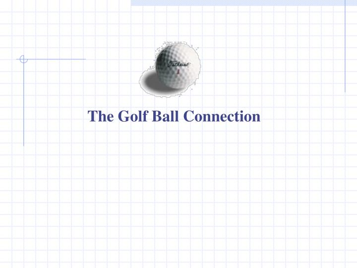 The Golf Ball Connection