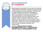 part iii future activities wp 2 dissemination1
