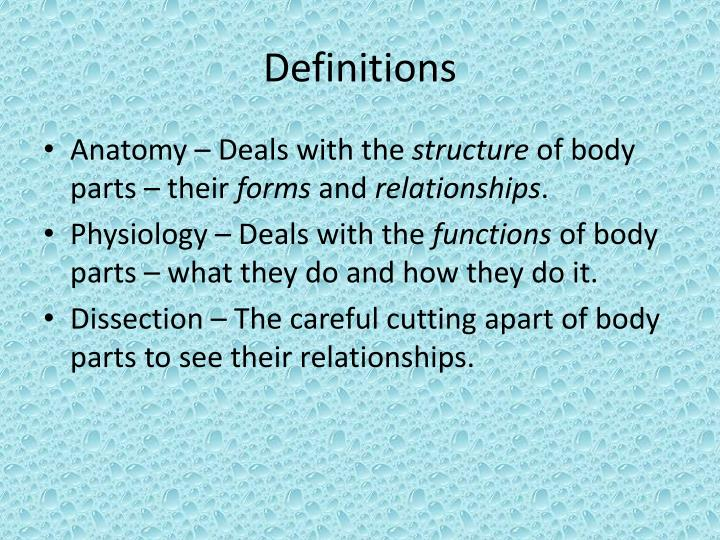 Outstanding Anatomy Deals With The Image - Anatomy And Physiology ...