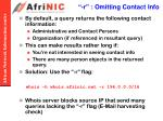 r omitting contact info