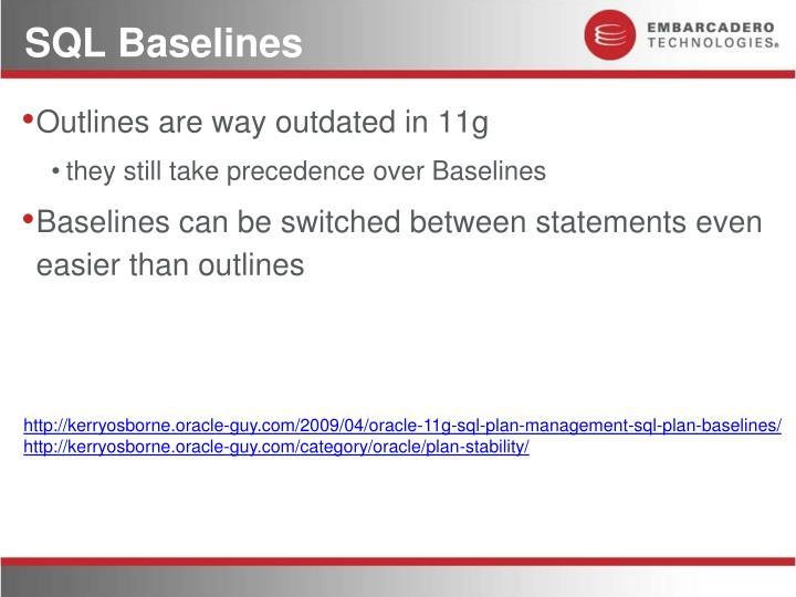 SQL Baselines