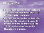 allington 2001