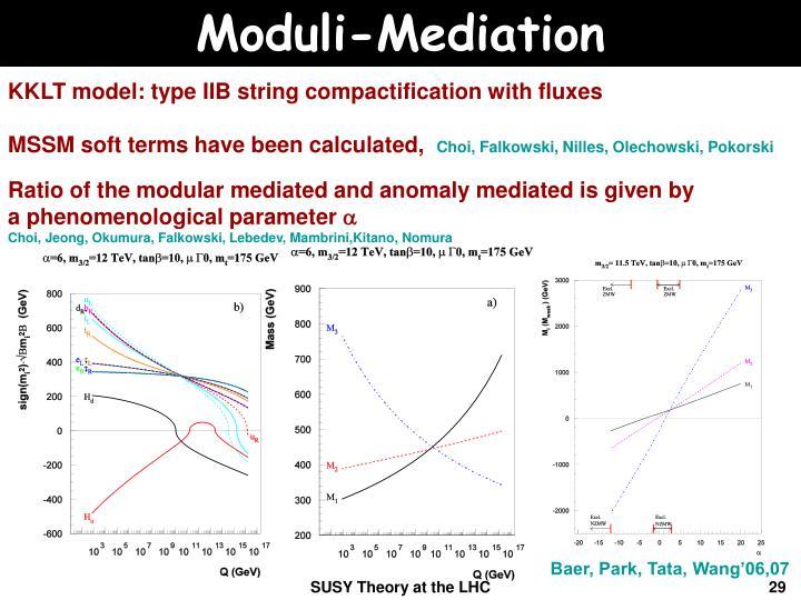 Moduli-Mediation