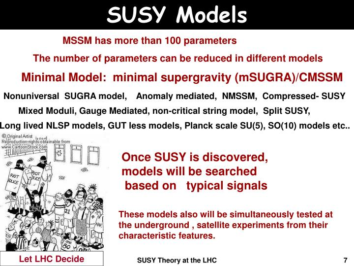 SUSY Models