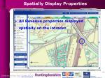 spatially display properties