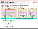 scsi driver support