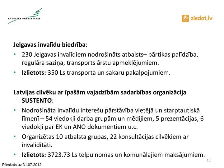 Jelgavas invalīdu biedrība