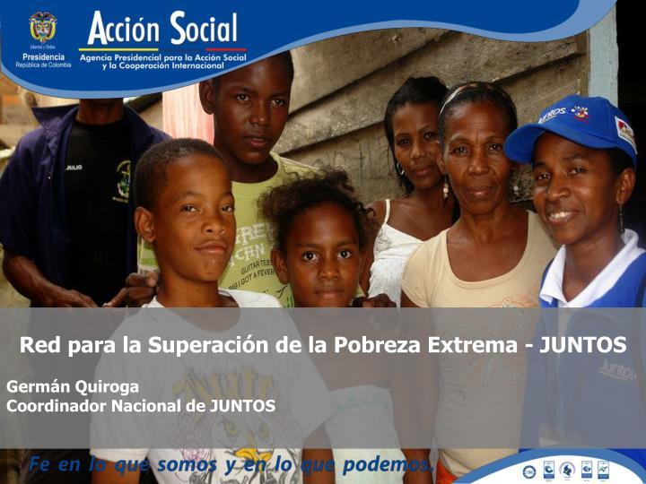 Red para la Superación de la Pobreza Extrema - JUNTOS