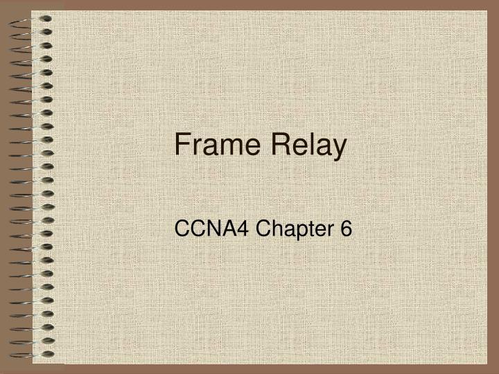 frame relay n.