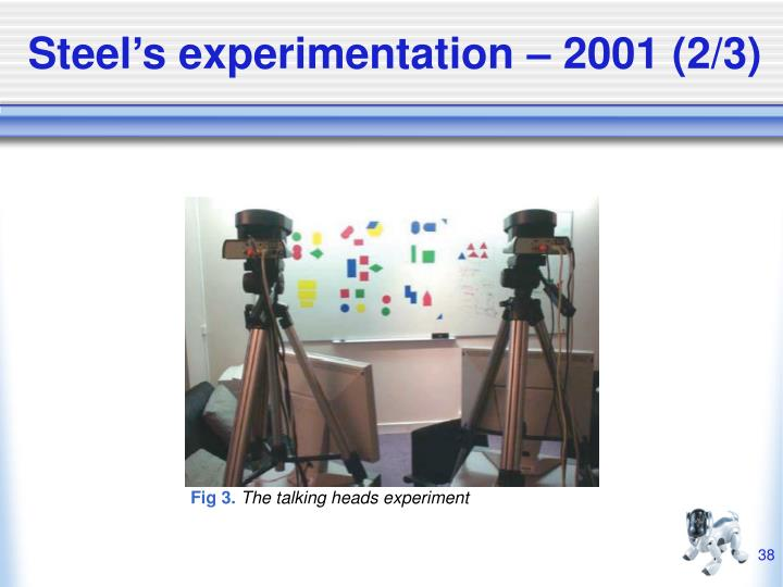 Steel's experimentation – 2001 (2/3)