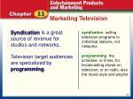 marketing television