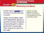 marketing the music1
