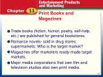 print books and magazines