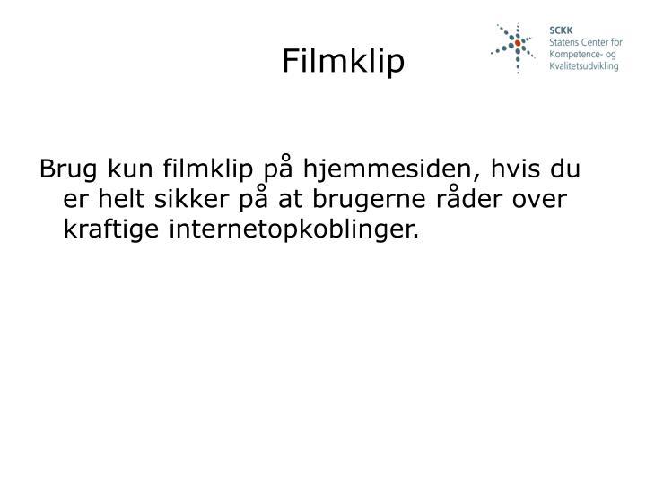 Filmklip