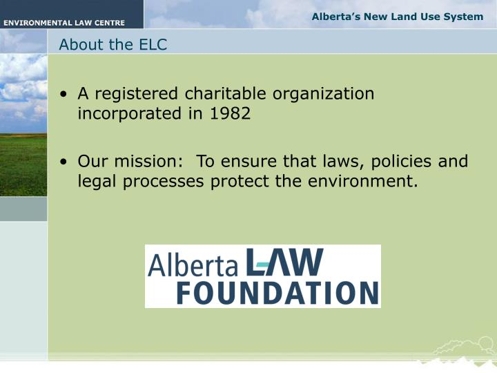 About the elc