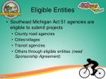 eligible entities