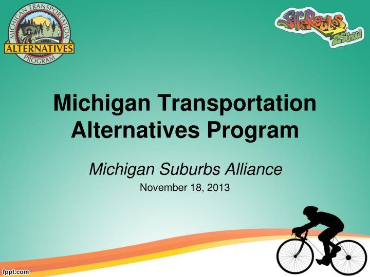 michigan transportation alternatives program n.