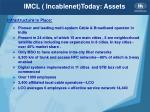 imcl incablenet today assets