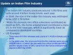update on indian film industry