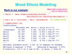 mixed effects modelling2