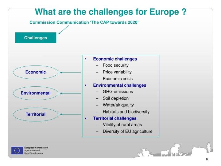 What are the challenges for Europe ?