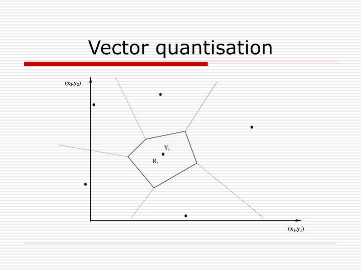 Vector quantisation