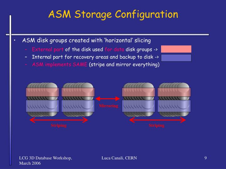 ASM Storage Configuration