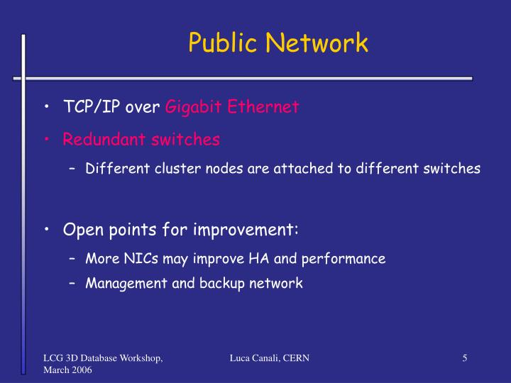 Public Network