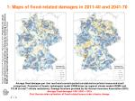 1 maps of flood related damages in 2011 40 and 2041 70