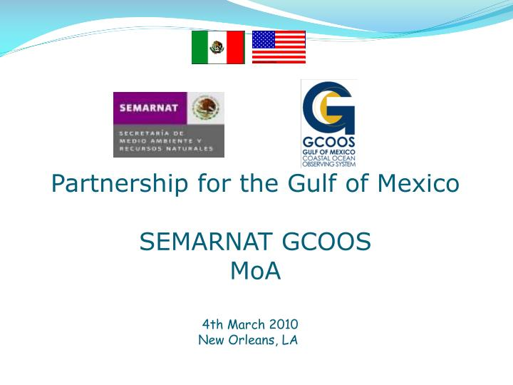 Partnership for the Gulf of Mexico