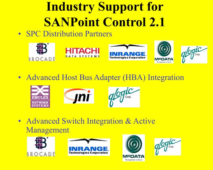 Industry Support for
