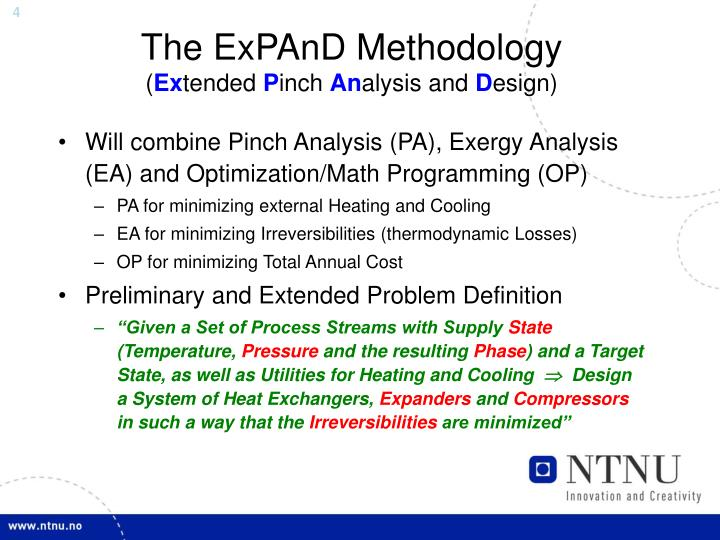 The ExPAnD Methodology