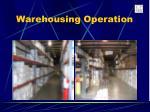 warehousing operation