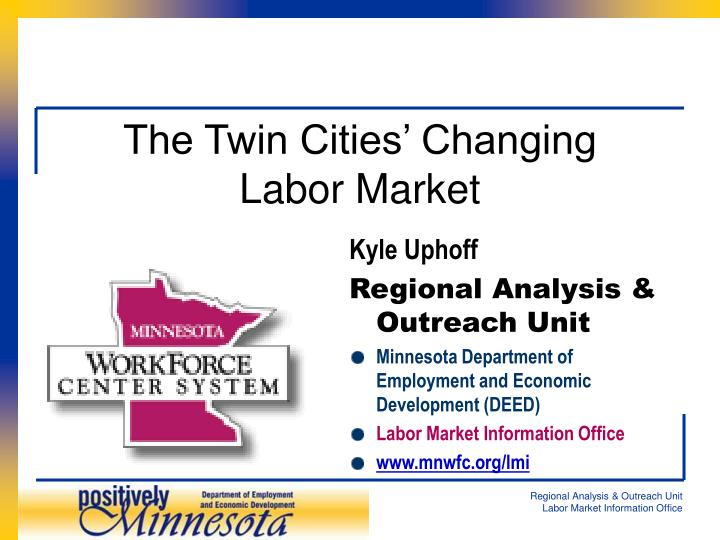 the twin cities changing labor market n.