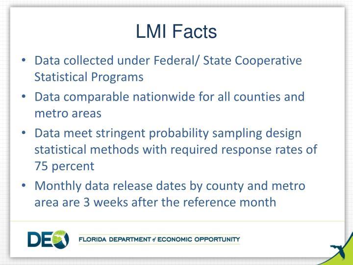 LMI Facts