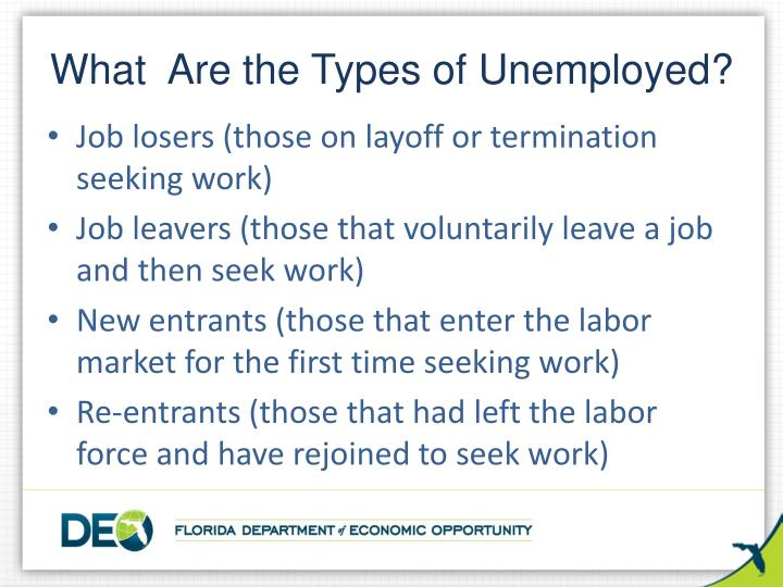 What  Are the Types of Unemployed?
