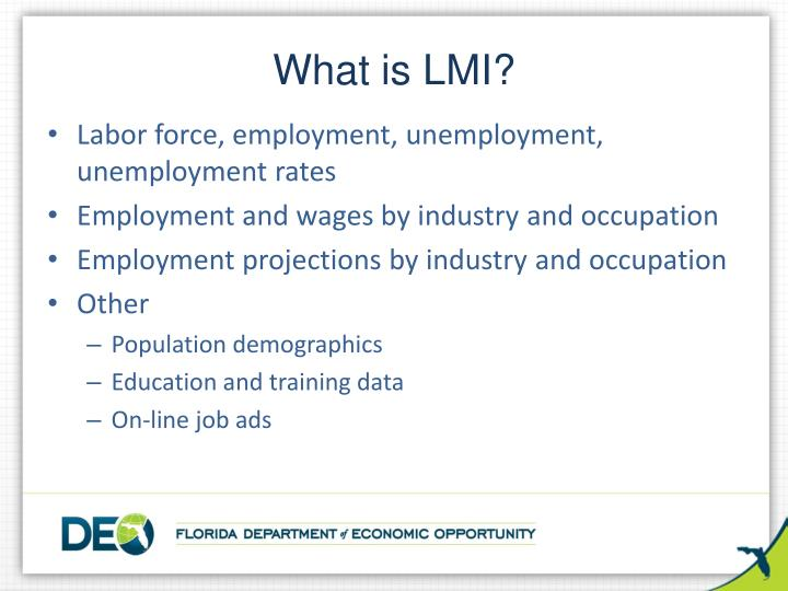 What is lmi