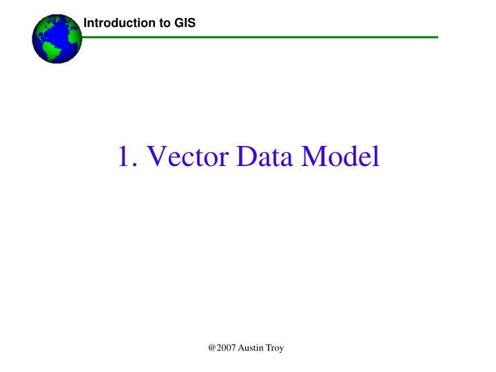 1 vector data model