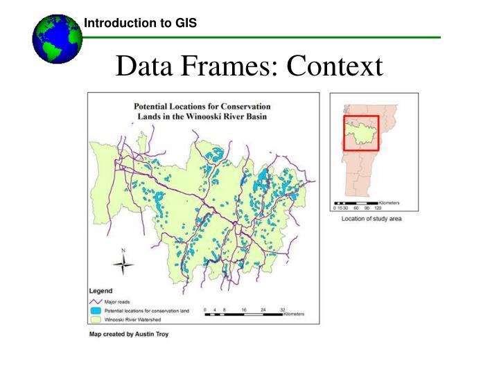 Data Frames: Context