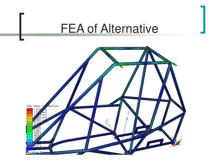 FEA of Alternative