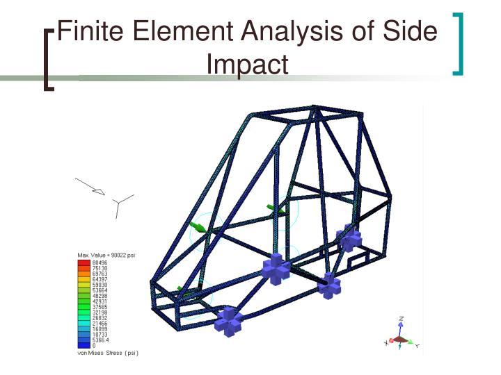 Finite Element Analysis of Side Impact