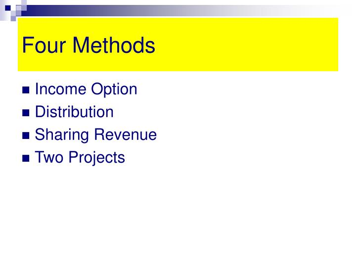 Four methods