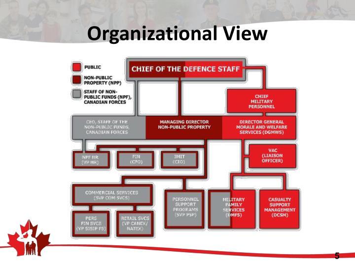 Organizational View
