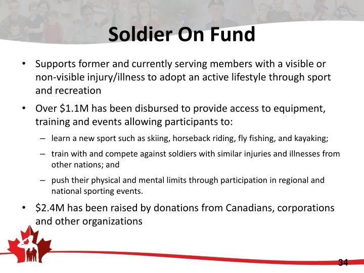 Soldier On Fund