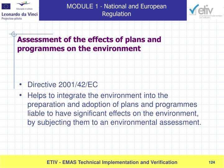 Directive 2001/42/EC