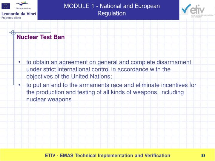 to obtain an agreement on general and complete disarmament under strict international control in accordance with the objectives of the United Nations;