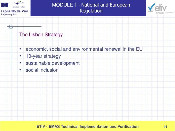 economic, social and environmental renewal in the EU